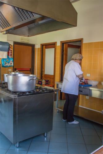 Asilo infantile Pont-Saint-Martin cucina